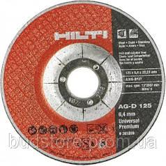 Круг зачистной по металлу HILTI Universal Super Premium AG-D 125х6,4х22,23 мм