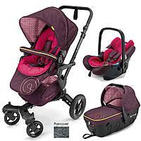 Коляска универсальная 3 в 1 Concord Neo travel set Rose Pink