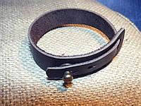 Шкіряний браслет «Natty» шкіряний браслет, під замовлення, різніх кольорів
