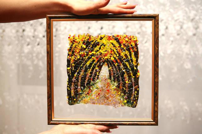 "Картина ""Абстракция №7"" Осень, фото 2"