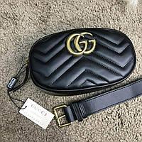 Жіноча сумка Gucci GG на пояс, фото 1