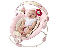 Детский Шезлонг Качалка Joymaker Музыкальное Кресло для Малыша, фото 1
