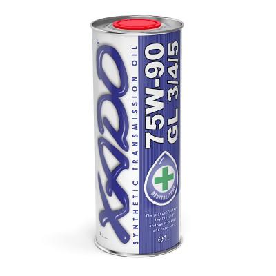 Трансмиссионное масло XADO Atomic Oil 75W-90 GL 3/4/5 1л
