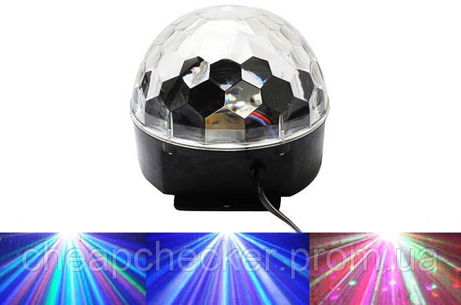 Диско Шар с Bluetooth Laser XXB 01 M6 BT