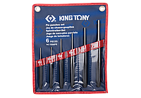 Выколотки в наборе 6 ед. 2-8мм в чехле King Tony 1006PR