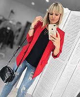 Пиджак женский удлиненный батал  дав148, фото 1