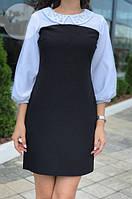 Платье женское короткое с воротничком (К23778), фото 1
