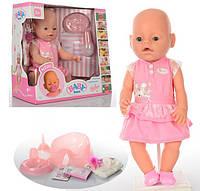 Кукла-пупс Baby Born 8009-439, 9 функций, 9 аксессуаров