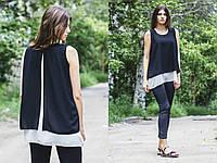 Летняя шифоновая блузка