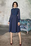 Платье Джина темно-синее, фото 1