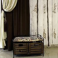 Диван-этажерка лавка кованая с 2 ящиками, черная, фото 1
