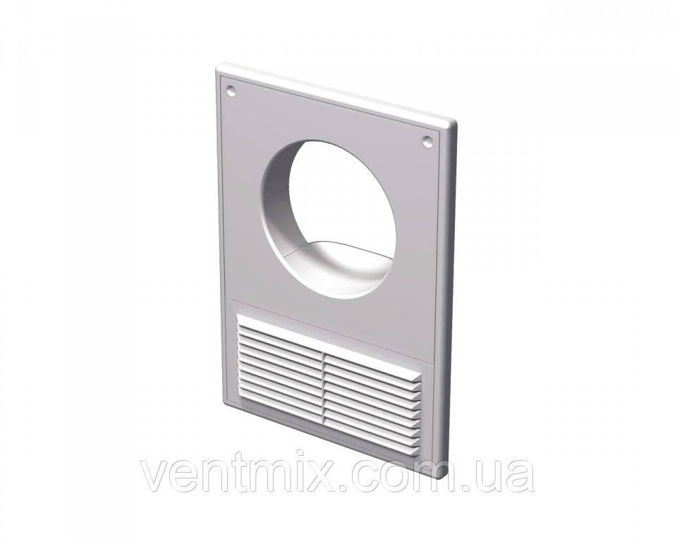 Вентиляционная решетка МВ 125 КС, 250Х180 мм