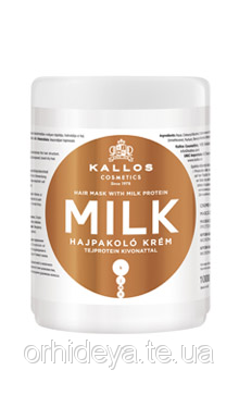 Kallos KJMN Латте крем-маска для волос с экстрактом молочного протеина, 1000 мл