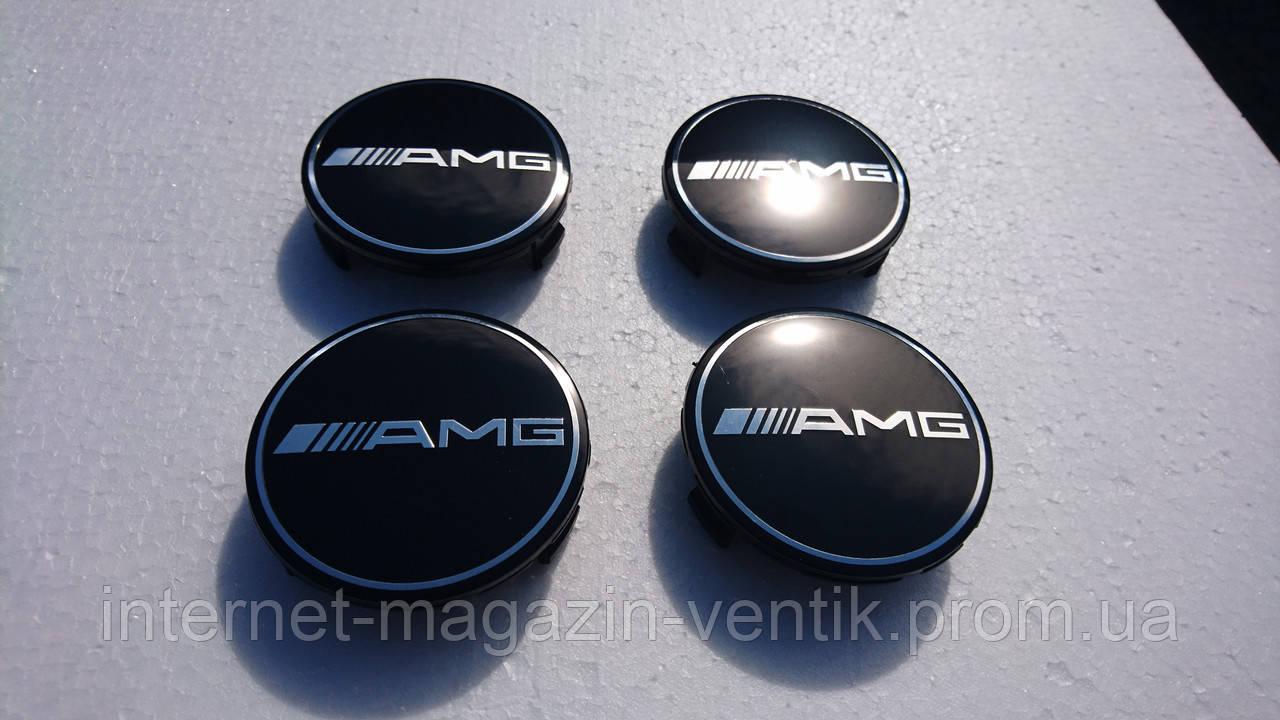 Колпачки в диски AMG черные