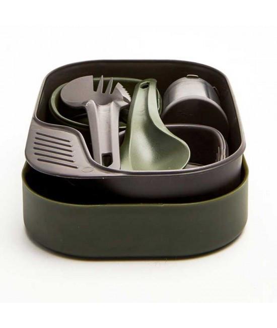 Wildo Набор для 2 человек Camp-A-Box Duo Complete Olive 6521