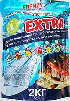 Прикормка Frenzy Fisher Экстра Чеснок 2 кг