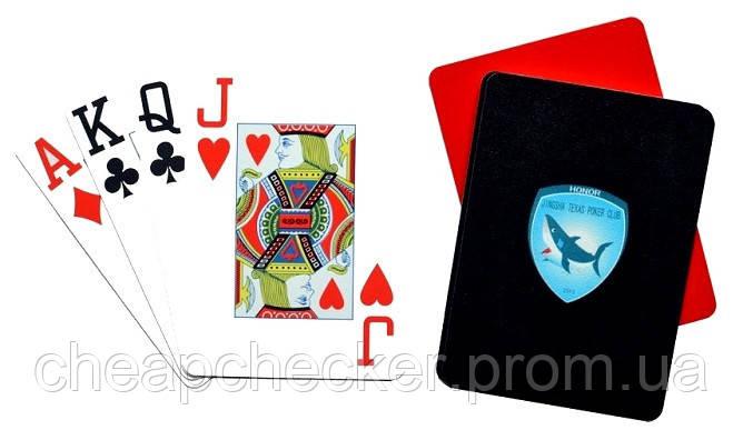 Игральные Карты для Покера Poker Shark
