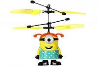 Игрушка Вертолет Летающий Миньон с Пультом, фото 1