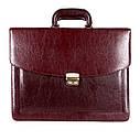 Мужской портфель из искусственной кожи 303152 коричневый, фото 2