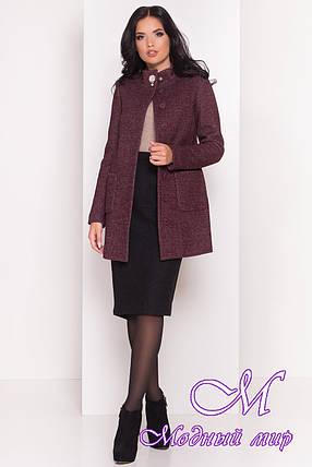 Стильное женское осеннее пальто (р. S, M, L) арт. Мелини 4542 - 21598, фото 2