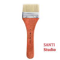 Пензель художній Флейц Щетина плоска, Santi Studio