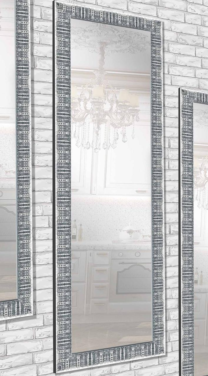 Настенное зеркало Зеркало в раме Зеркало на заказ в прихожую, в ванную комнату, цена, 60х174 см