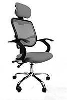 Крісло офісне Ergo D05 grey, фото 1