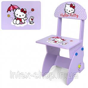Детская парта Bambi (Metr+) М 0324-9 Hello Kitty со стульчиком, регулируемая, фото 2