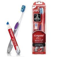 Косметический набор зубная щетка + карандаш для отбеливания зубов Colgate Max White Expert White 1шт