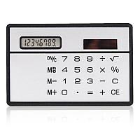 Калькулятор-визитка на солнечной батарее, фото 1