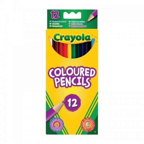 Цветные карандаши Crayola 12 шт (3612). Оригинал
