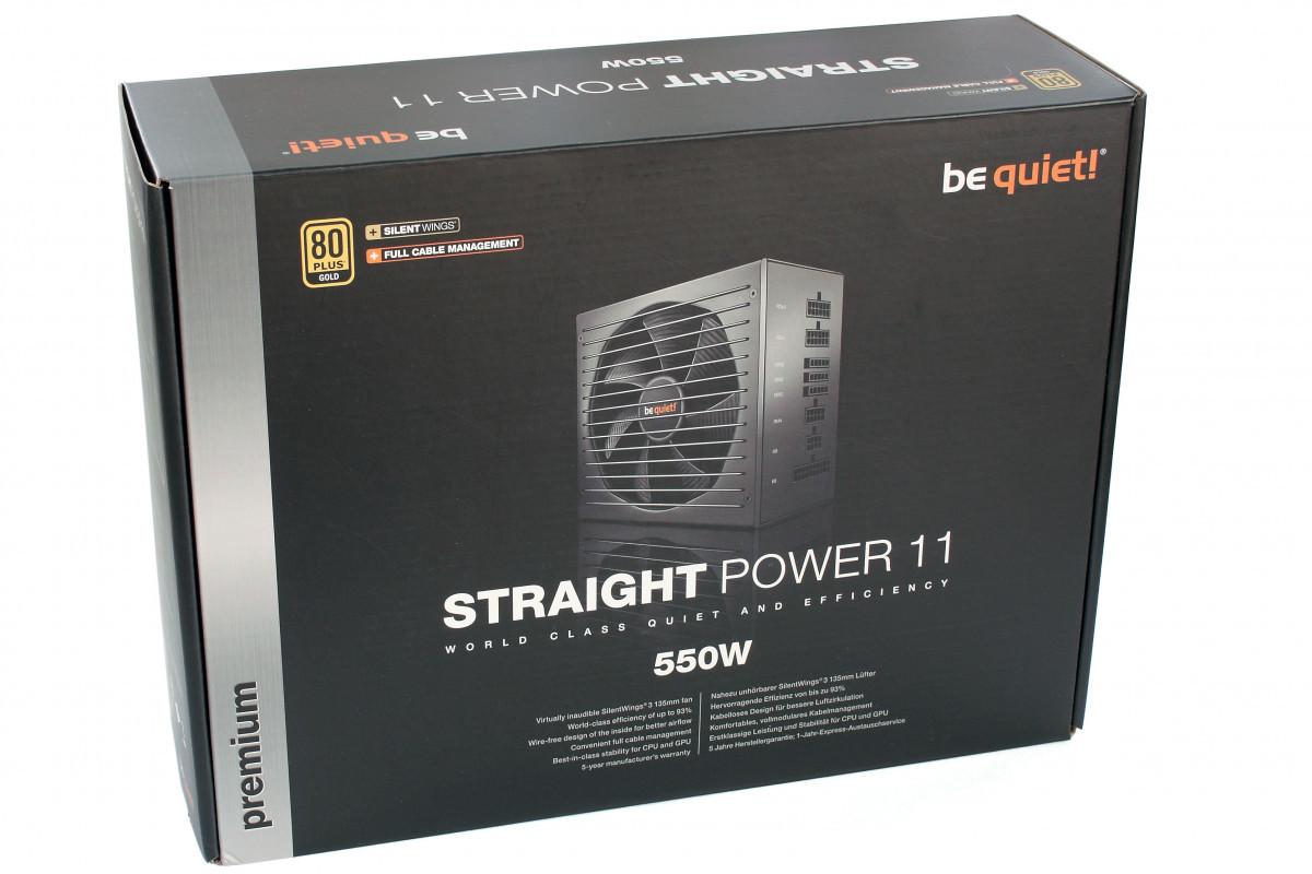 "Блок питания be quiet! STRAIGHT POWER 11 E11-550W 550W 80 PLUS Gold (BN281)""Over-Stock"""