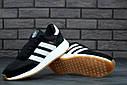 Кроссовки черные мужские Адидас Иники (Adidas Iniki) размер 40, 41, 42, 43, 44, 45 реплика, фото 5
