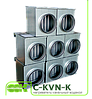 Канальный водяной нагреватель для круглых каналов C-KVN-K