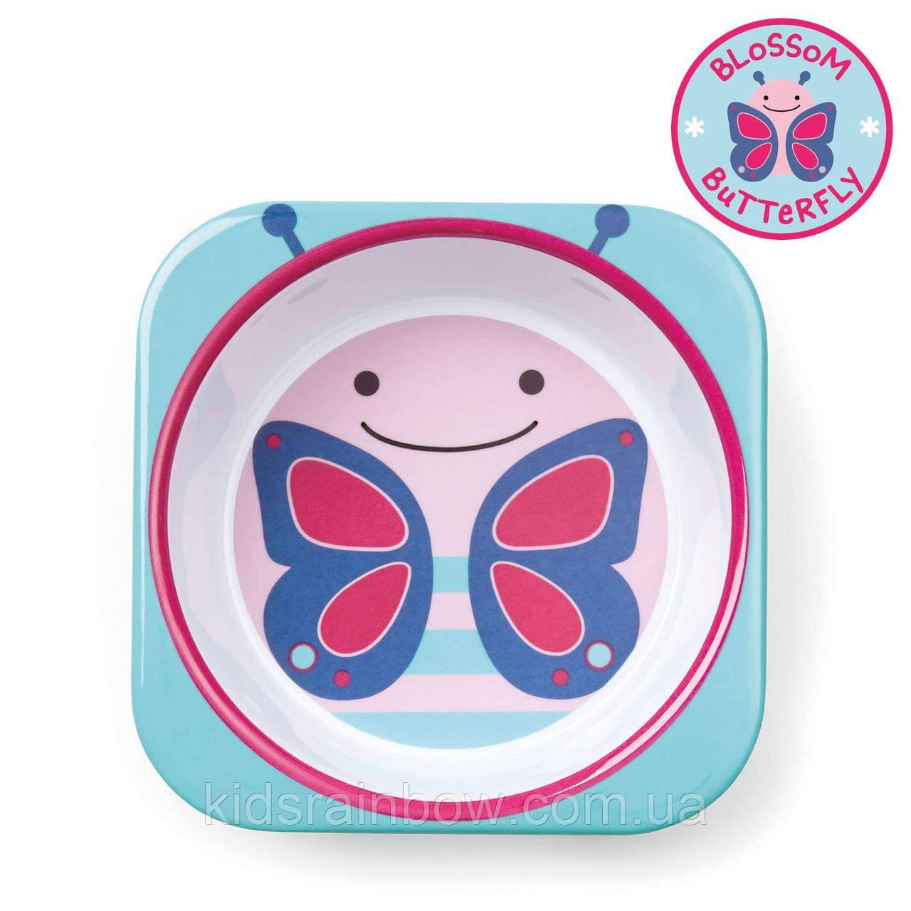 Детская глубокая тарелочка Skip Hop Бабочка