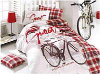 Комплект постельного белья 160x220 Iyi Geceler Istanbul FREEDOM KIRMIZI