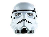 Карнавальная Пластиковая Маска Имперского Штурмовика из Фильма Звездные Войны Star Wars Прикол для Вечеринки