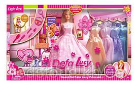 Лялька DEFA з гардеробом 6073B №1