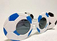 Карнавальные Очки Футбольный Мяч Прикол для Вечеринки Маскарад, фото 1