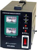 Стабилизатор напряжения Luxeon AVR 500VA для газовых котлов, телевизоров, ноутбуков