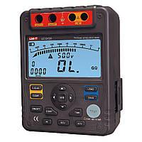 Мегаомметр UNI-T UT513A (тестовое напряжение до 5000 В)