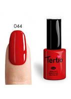 Гель-лак Tertio №44 темно-красный 10 мл