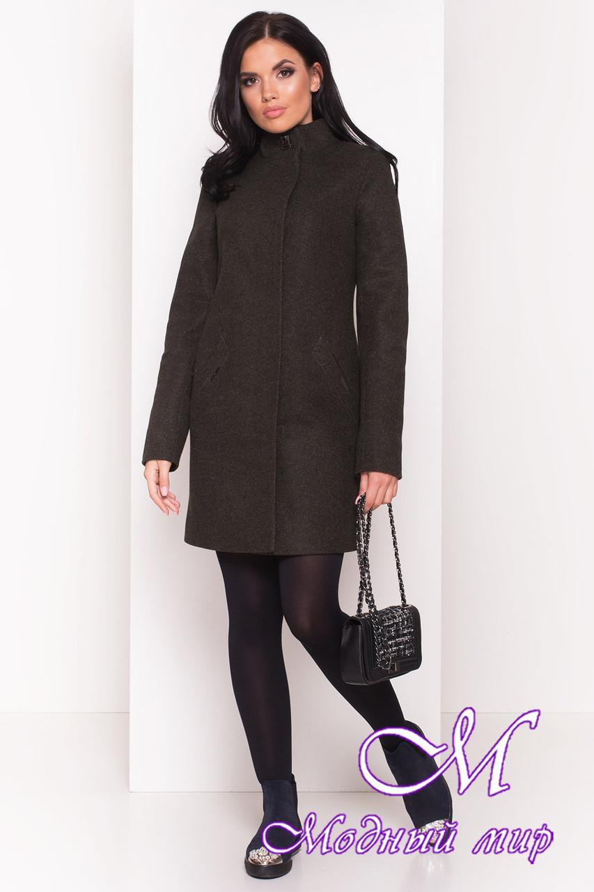 Женское кашемировое демисезонное пальто (р. S, M, L) арт. Люцея 5428 - 36728