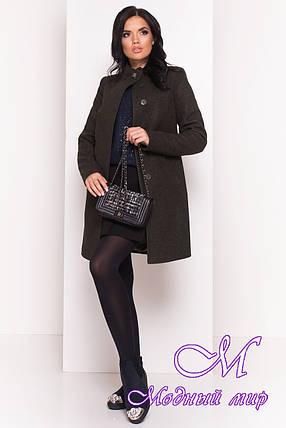 Женское кашемировое демисезонное пальто (р. S, M, L) арт. Люцея 5428 - 36728, фото 2