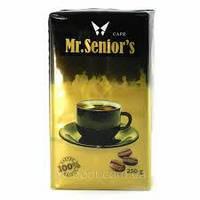 Кофе молотый Mr.Seniors Cafe, 250г , фото 1