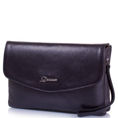 Женская кожаная сумка-клатч DESISAN (ДЕСИСАН) SHI1541-011