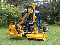 Косарка – кущоріз для трактора на маніпуляторі FEMAC DOC 201