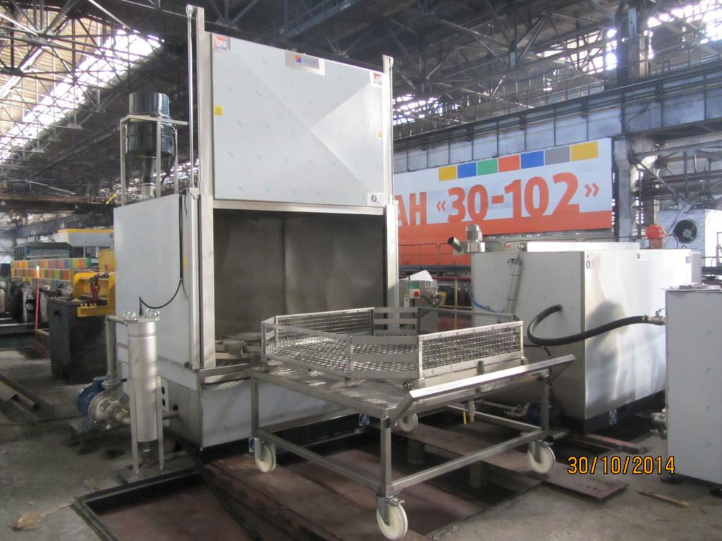 Запуск в работу промышленной моечной машины MAGIDO L210E