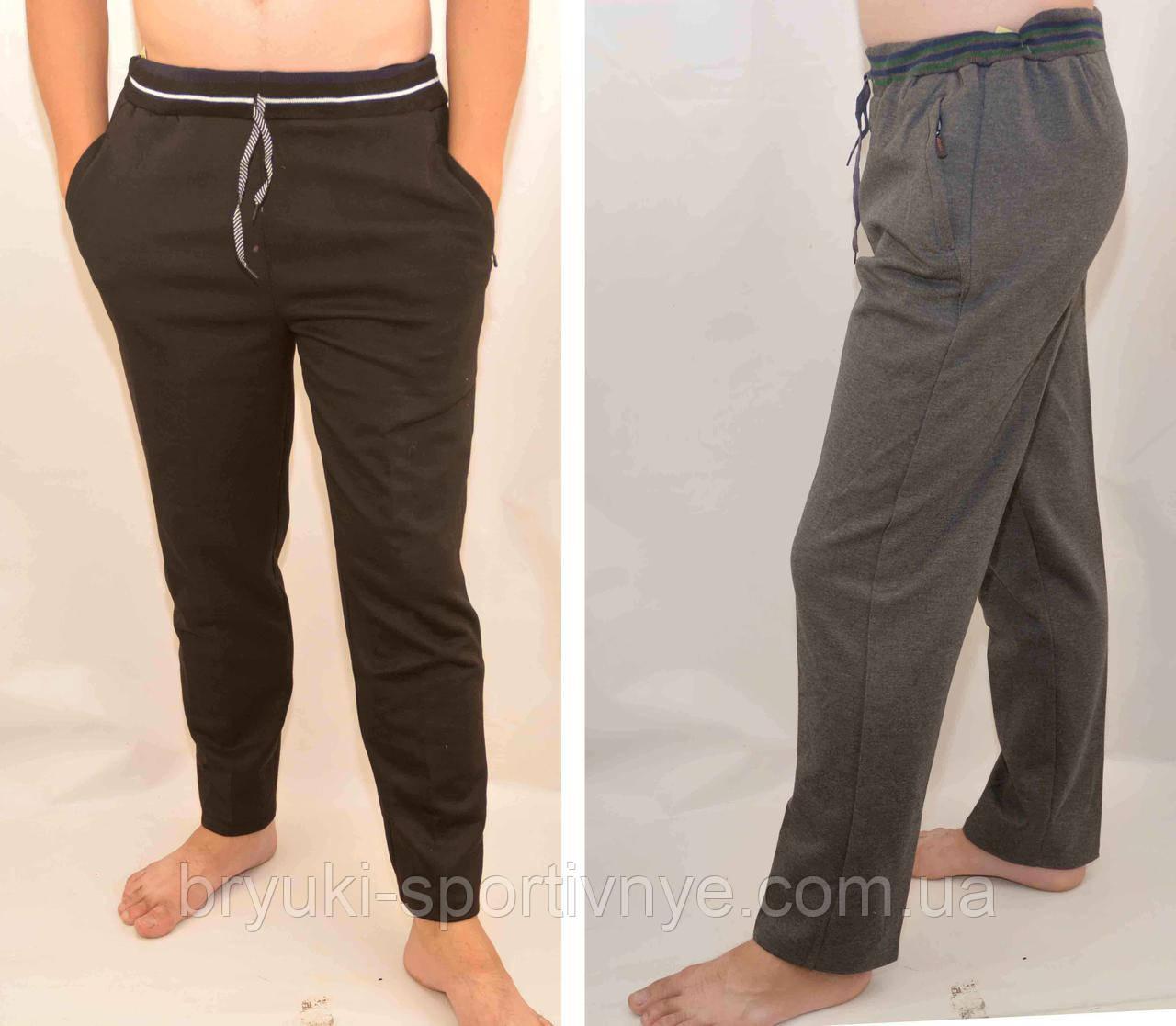 Спортивные штаны мужские трикотажные - широкий пояс