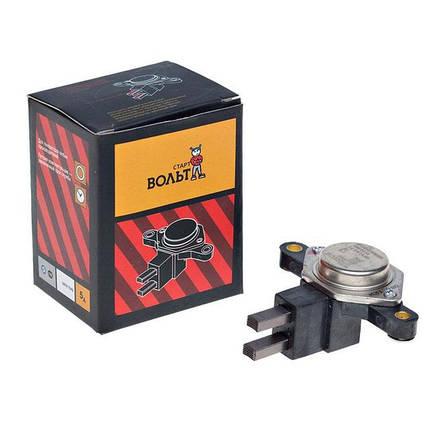 Интегральный регулятор напряжения со щёточным узлом ВАЗ-2110 СтартВольт, фото 2